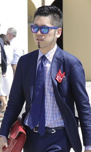camicia-quadri-cravatta