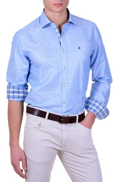 camicia-da-uomo-azzurro-lucido