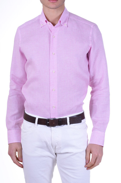 camicia-uomo-rosa-agho