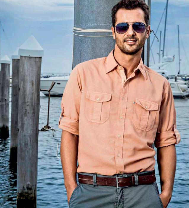 camicia-di-lino-color-pesca
