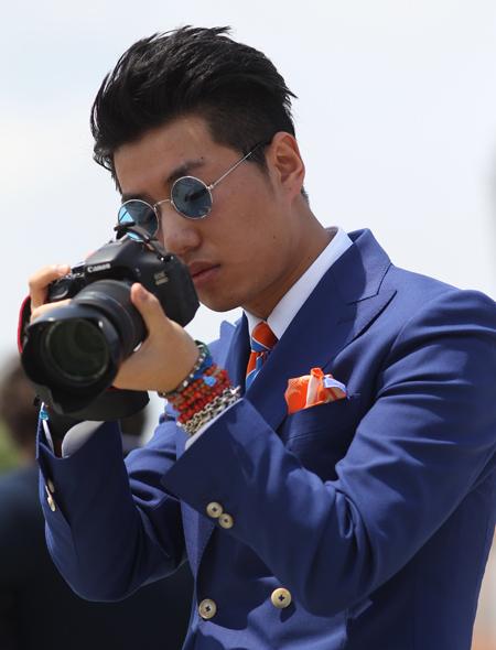 giacca-blu-pochette