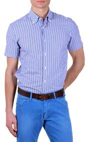 camicia-trendy-maniche-corte-slim