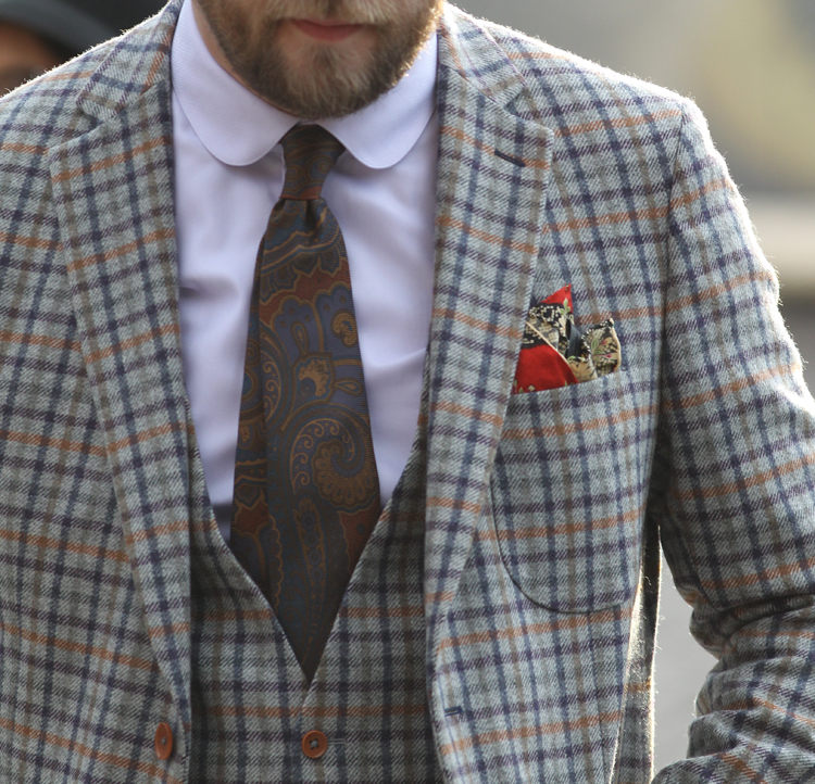 miglior sito web 499af d1976 Fazzoletto da taschino: l'accessorio maschile che fa la ...