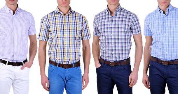 camicie-maniche-corte-uomo-slim-fit
