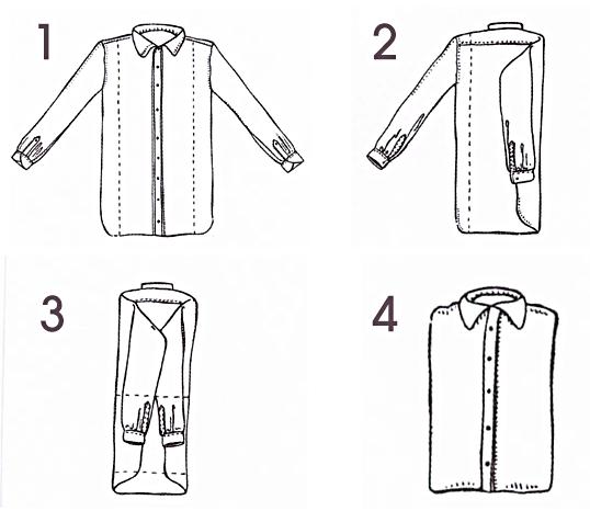 piegare-camicia