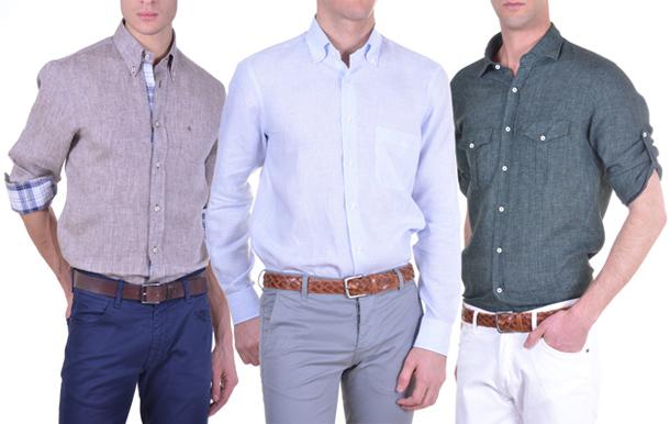 La camicia di lino perfetti a lavoro anche d'estate Il